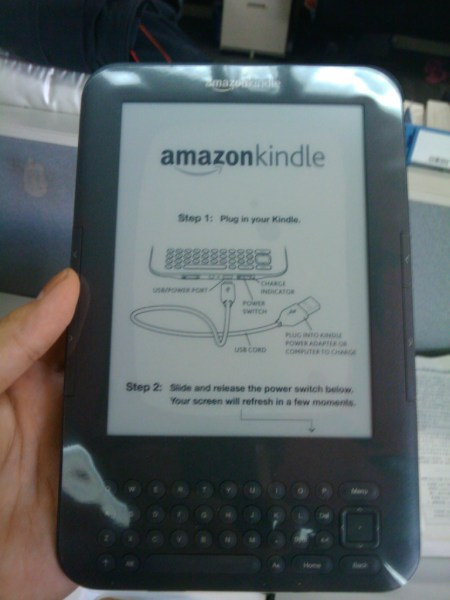 Take out Kindle 3