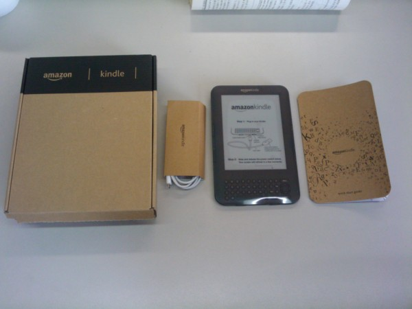 Kindle 3 all parts